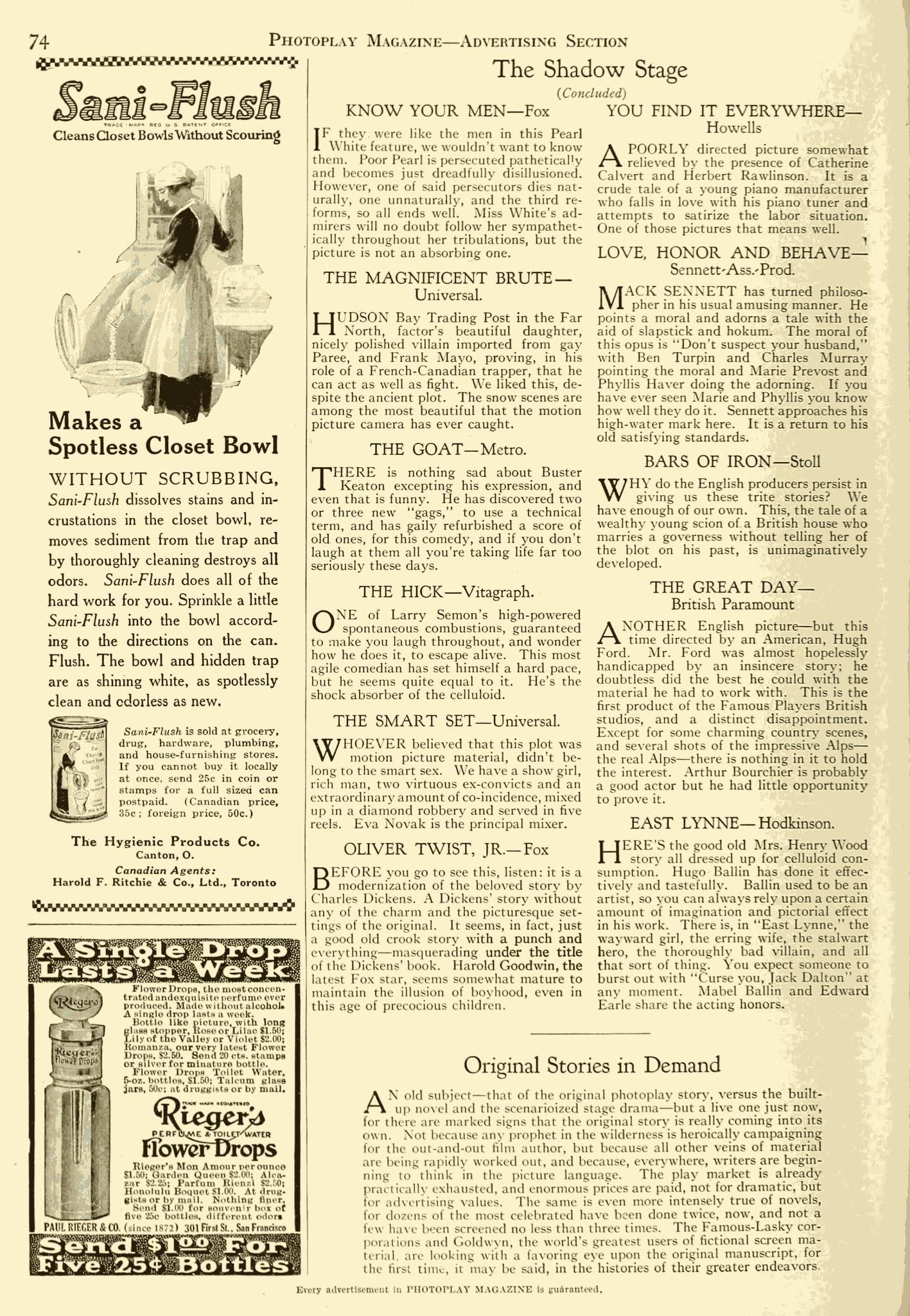 Photoplay Magazine - June 1921